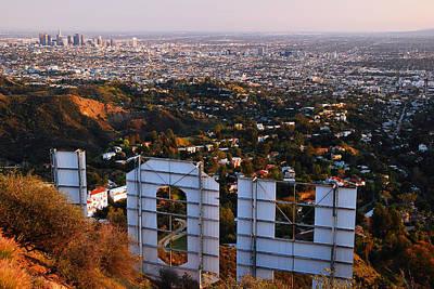 Beyond Hollywood Art Print