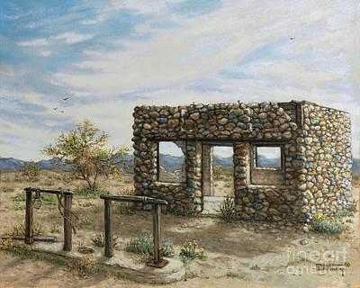 Painting - Beyond Hope Arizona by Janet  Kruskamp