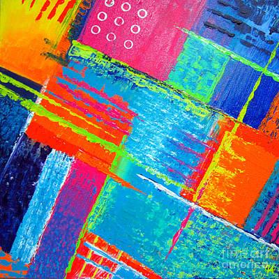 Painting - Beyond Oblivion No. 1 by Jeremy Aiyadurai