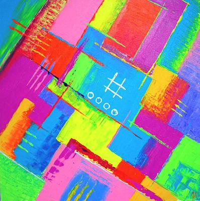 Painting - Beyond Oblivion No. 3 by Jeremy Aiyadurai