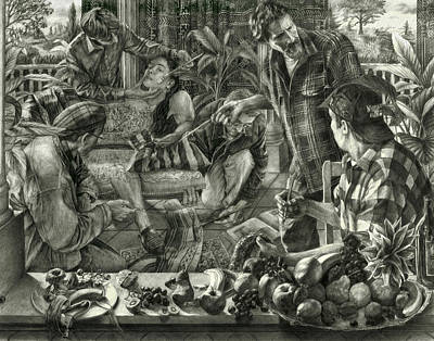 Still Life Drawings - Beyond Reality by Kenneth Cobb