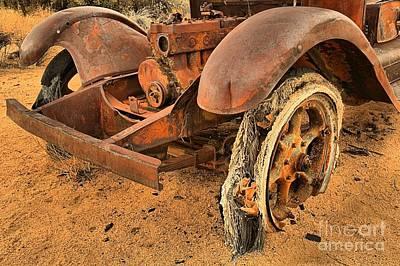 Mining Truck Photograph - Beyond Repair by Adam Jewell