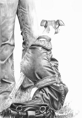 Beyond Art Print by Sheona Hamilton-Grant