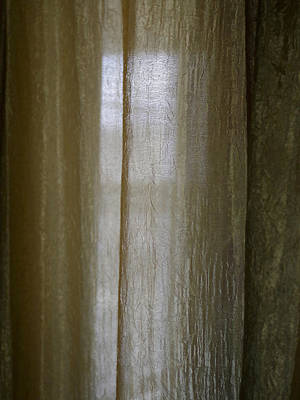 Photograph - Beyond The Curtain by Joseph Hedaya