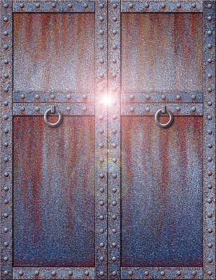 Digital Art - Beyond The Doors by Cristophers Dream Artistry