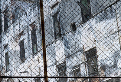 Photograph - Beyond The Fence Havana Cuba by Rob Huntley