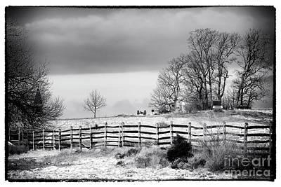 Gettysburg Address Photograph - Beyond The Fence by John Rizzuto