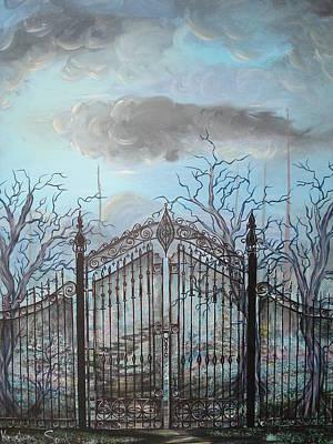 Beyond The Iron Gates Art Print