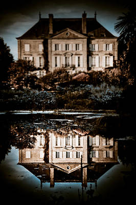 Chateau Photograph - Beyond The Mirror by Loriental Photography