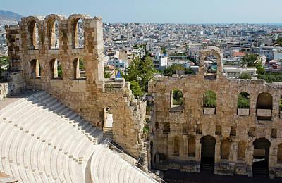 Photograph - Beyond The Odeon Of Herodes Atticus by Lorraine Devon Wilke