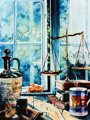 Barrister Painting - Beyond The Shadow Of Doubt by Hanne Lore Koehler