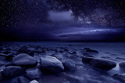 Clouds Photograph - Beyond Time And Space by Jorge Maia