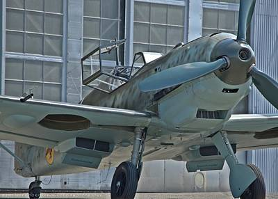 Photograph - bf109 E by Jeff Cook