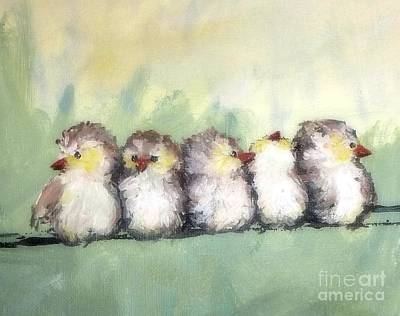 Painting - Bff's by Susan Fisher