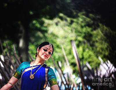 Festivals Of India Photograph - Bharata Natyam by Nishanth Gopinathan