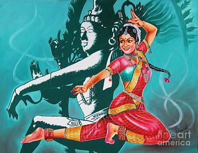 Bharatanatyam Art Print
