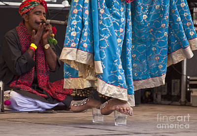 Photograph - Bhavai Dancer by Liz Leyden