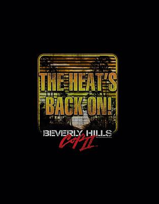 Beverly Hills Digital Art - Bhc IIi - The Heats Back On by Brand A