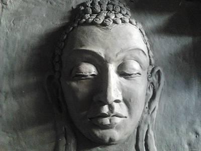 Sculpture - Bhuddha by Hihani Gautam
