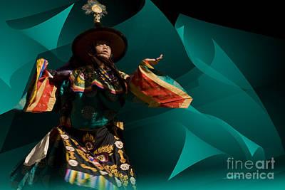 Bhutanese Festival Art Print