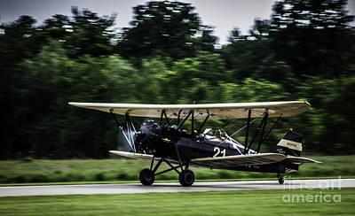 Photograph - Bi-plane by Ronald Grogan