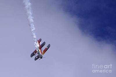 Photograph - Bi Wing Stunt Plane by Don Youngclaus