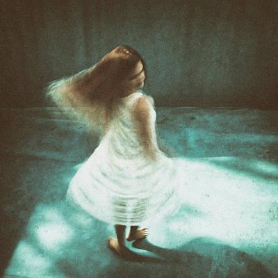 Texture Photograph - Bianca's Joy by Roswitha Schleicher-schwarz