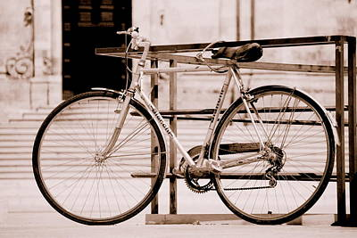 Photograph - Bianchi Bicycle Italy by Caroline Stella