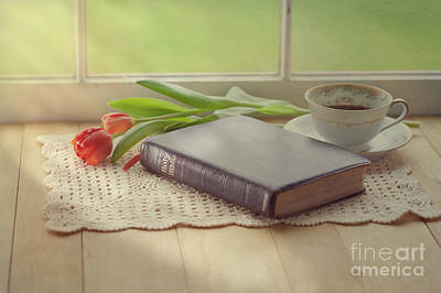 Photograph - Bible Study by Kay Pickens