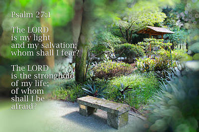 Photograph - Bible Verse 03 by Carlos Diaz