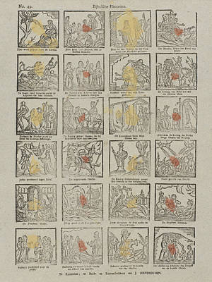 Biblical Historien, Germany, Jan Hendriksen Art Print by Jan Hendriksen