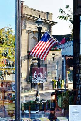 Photograph - Biblion Used Books Reflections 2 - Lewes Delaware by Kim Bemis