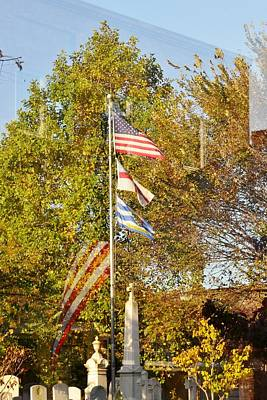 Photograph - Biblion Used Books Reflections 7 - Lewes Delaware by Kim Bemis