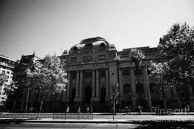 biblioteca nacional de chile national library Santiago Chile Art Print by Joe Fox
