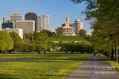 Bicentennial Photograph - Bicentennial Park Nashville by Brian Jannsen
