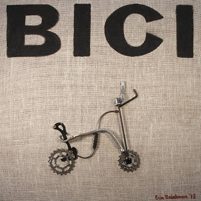 Painting - Bici by Erin Brinkman