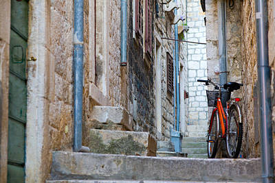 Photograph - Bicycle by Alexey Stiop