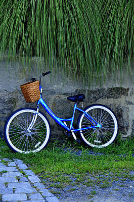 Photograph - Bicycle At Rest by Caroline Stella
