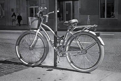Transportation Royalty-Free and Rights-Managed Images - Bicycle by Betsy Knapp