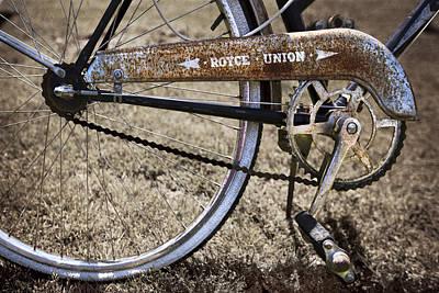 Bicycle Gears Art Print
