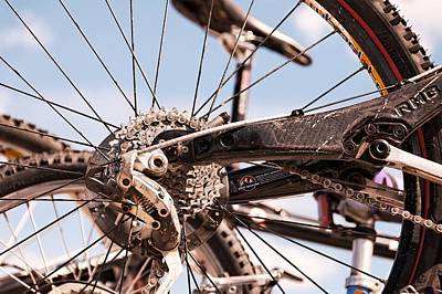 Photograph - Bicycle Gears by Trever Miller