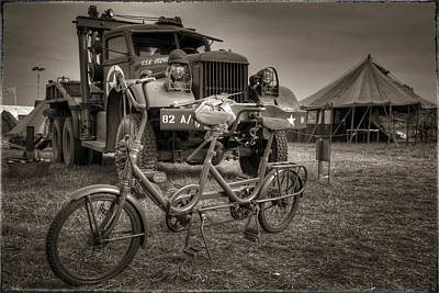 Bicycle Made For Two Art Print by Jason Green