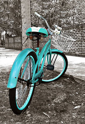 Aged Photograph - Bicycle by Marcia Colelli