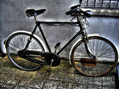 Two Wheeler Photograph - Bicycle by Nina Ficur Feenan