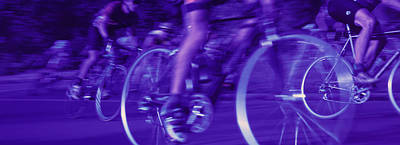 Bicycle Race Art Print by Panoramic Images