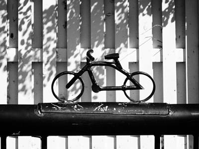 Photograph - Bicycle Rack by The Art of Marsha Charlebois
