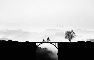 Family Tree Wall Art - Photograph - Bicycle Ride by Bess Hamiti