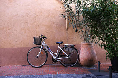 Photograph - Bicycle Sanary France by John Jacquemain