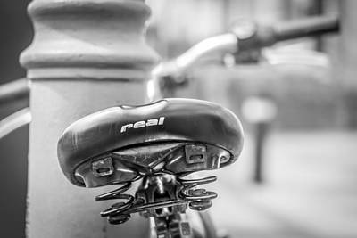 Photograph - Bicycle Seat.  by Gary Gillette