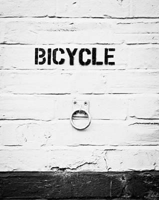 Bicycle Art Print by Tom Gowanlock